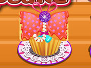 Play Butterfly banana cupcake