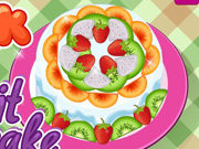 Play Cook A Fruit Cake
