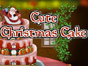 Play Cute Christmas Cake