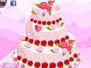 Play Rose Wedding Cake