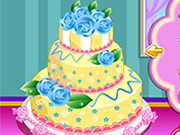 Play Rose wedding cake 3