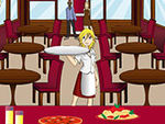 Play Lilou italian waitress game