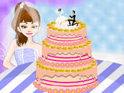 Play Bride Cake Decorating