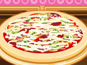 Play Chef Barbie Pizza
