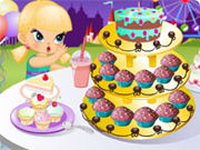 Play Cupcake tower of sun