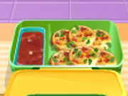 Play Mimis lunch box mini pizzas