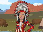 Play Native american dress up