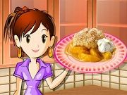 Play Peach cobbler