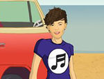 Play Louis Tomlinson dress up