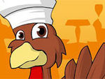 Play Thanksgiving turkey dress up