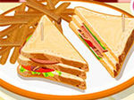 Play Turkey Club Sandwich