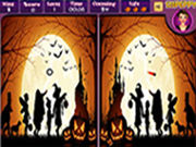 Play Happy Halloween Spot the Difference