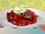 Beef medallions with cream