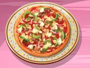 Cooking Pizza at home